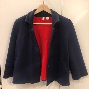 Anthropologie Short Coat Jacket